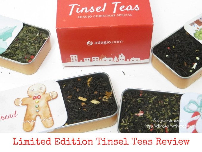 Limited Edition Tinsel Teas Review