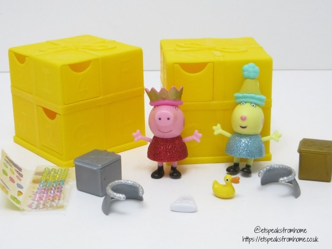 Peppa secret Surprise yellow cube