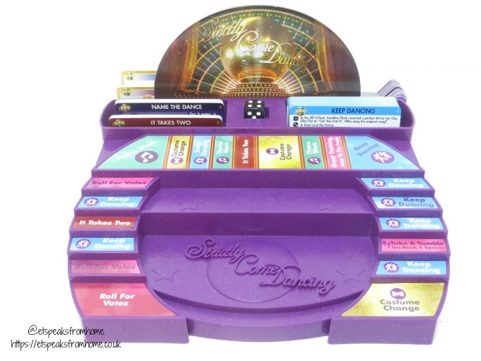 Strictly Come Dancing Board Game dance floor