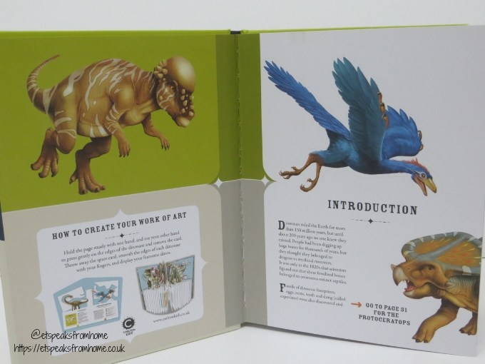 The Fearsome World of Dinosaurs pages