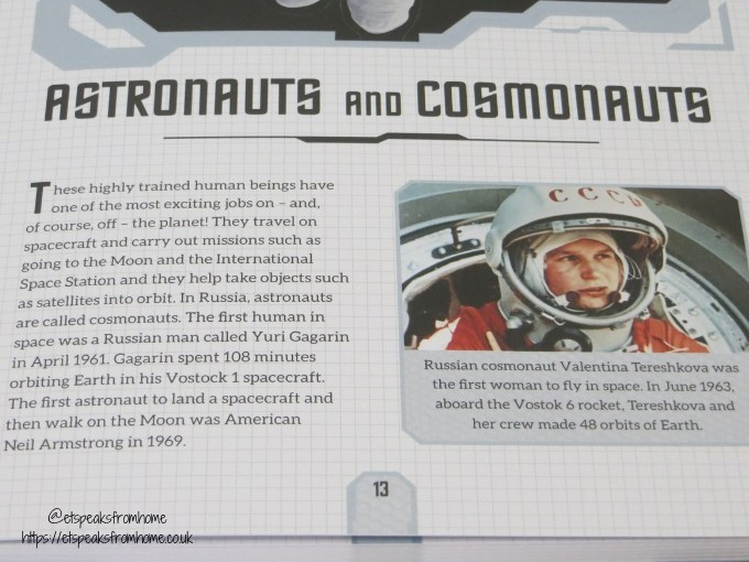 The Spectacular Journey into Space pages