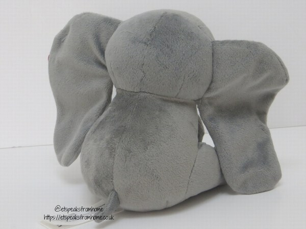 Disney Dumbo Live Action Plush 15 cm back