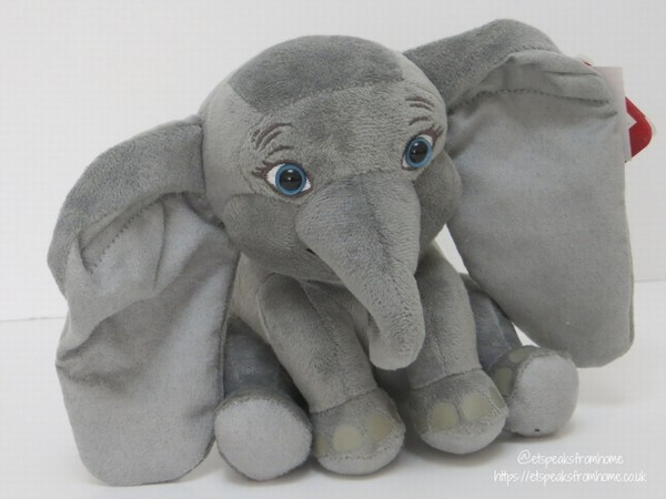 Disney Dumbo Live Action Plush 15 cm front