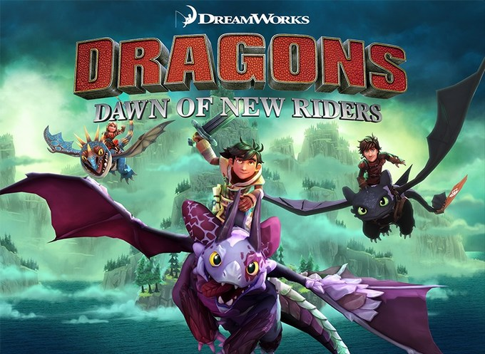 DreamWorks Dragons Dawn of New Riders review