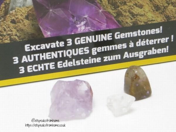 National Geographic STEM geuinue gemstones kit