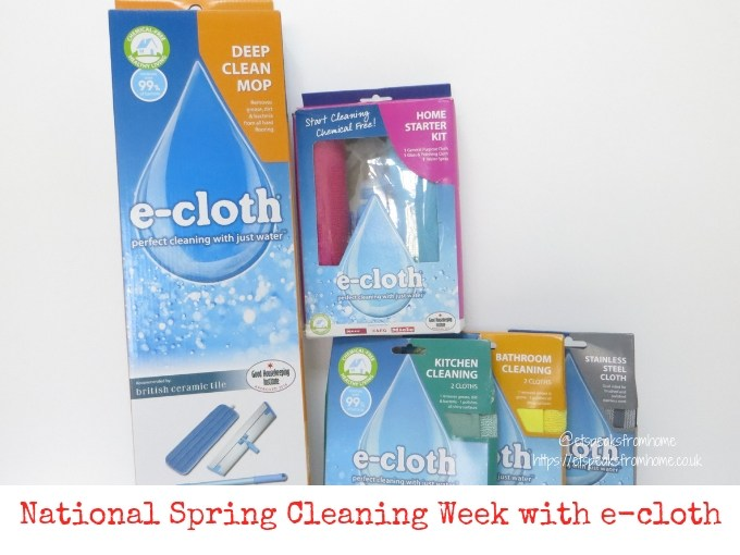 National Spring Cleaning Week with e-cloth