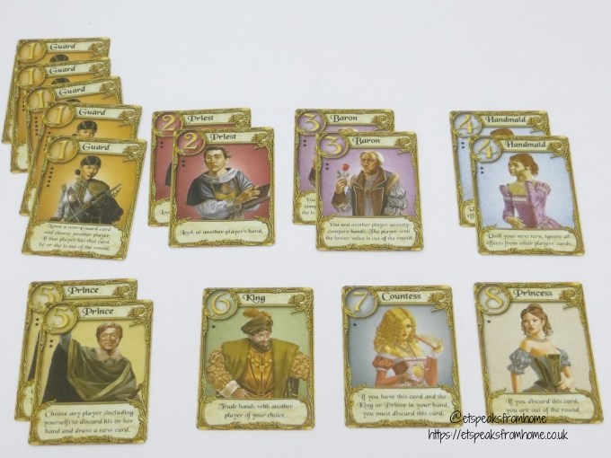 love letter game cards