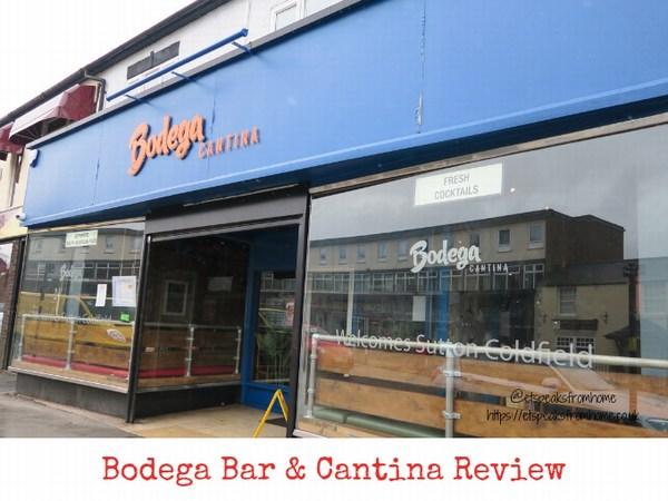 Bodega Bar & Cantina Review