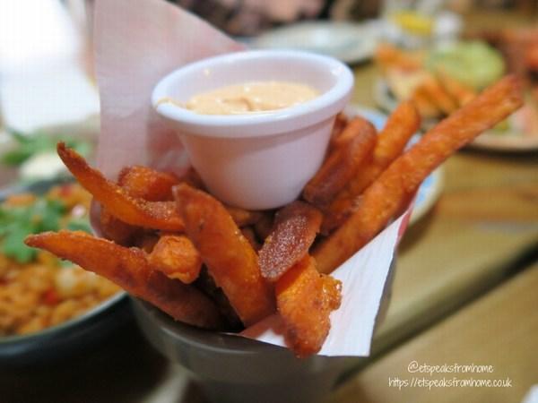 Bodega Bar & Cantina fried