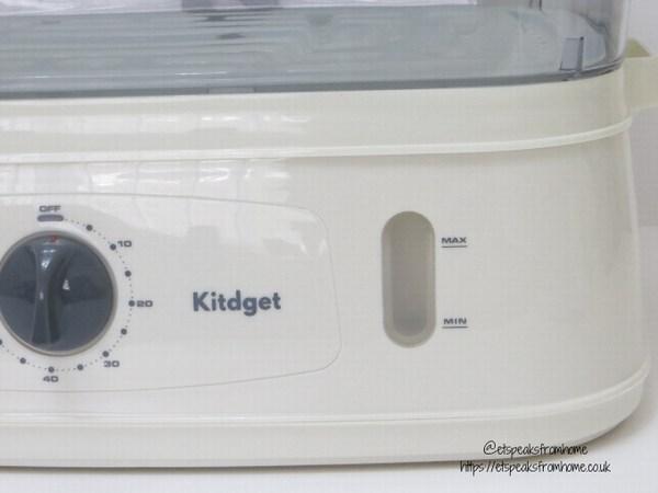 Kitdget 25L Professional Food Steamer timer