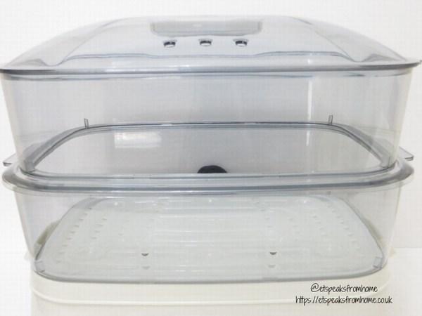 Kitdget 25L Professional Food Steamer two trays