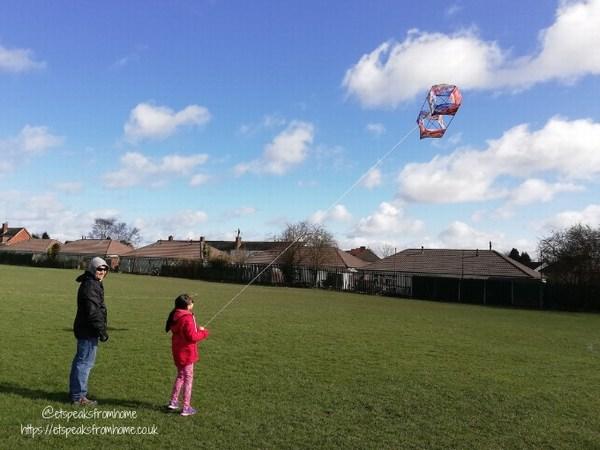 Kitedrone Kite fly