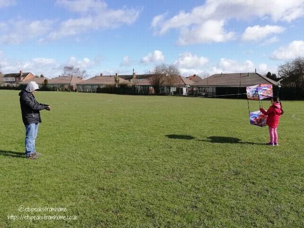 Kitedrone Kite launch