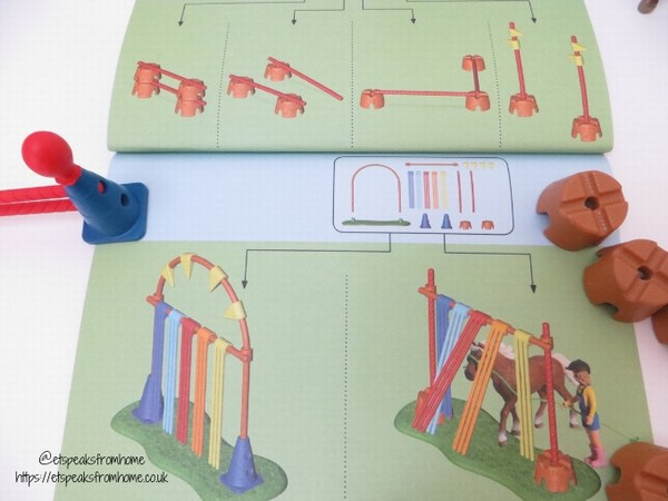 Schleich Pony Agility Training obstacle