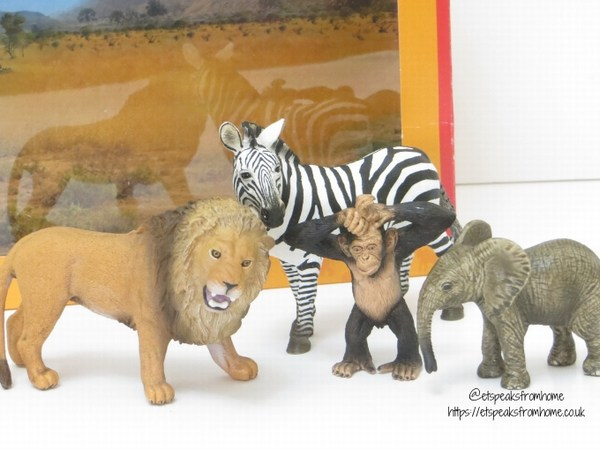 Schleich wild life starter set animals