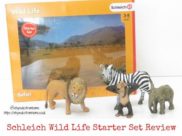 Schleich wild life starter set review