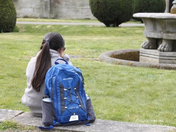 Alton Towers Resort Stargazing Pods millets backpack