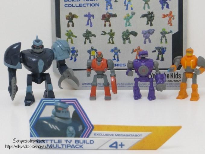 Bandai Robozuna Battle n Build Figure multi pack