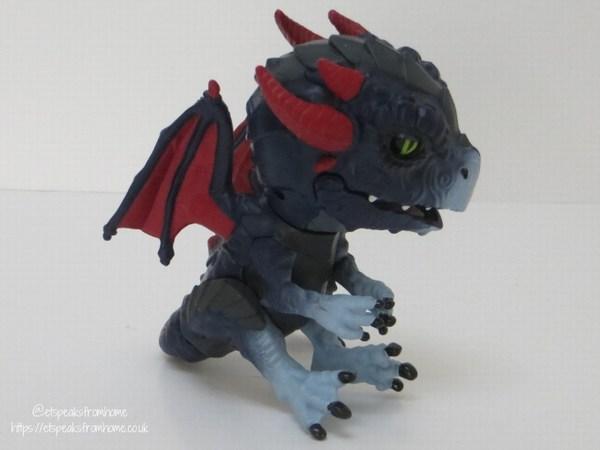 Untamed Dragons shockwave side