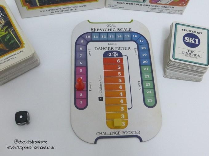 house of danger meter