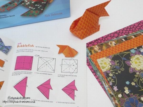 origami fish bubblefish