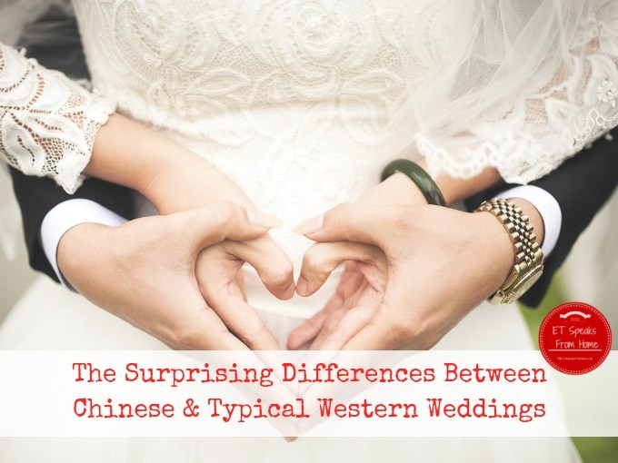 The Surprising Differences Between Chinese & Typical Western Weddings