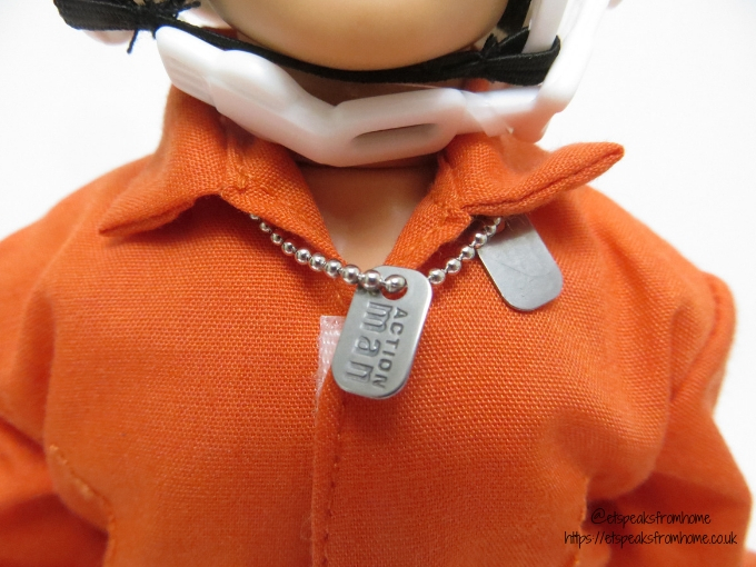 This Father's Day with Action Man pilot dog tag