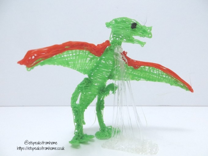 polaroid 3d pen dino model