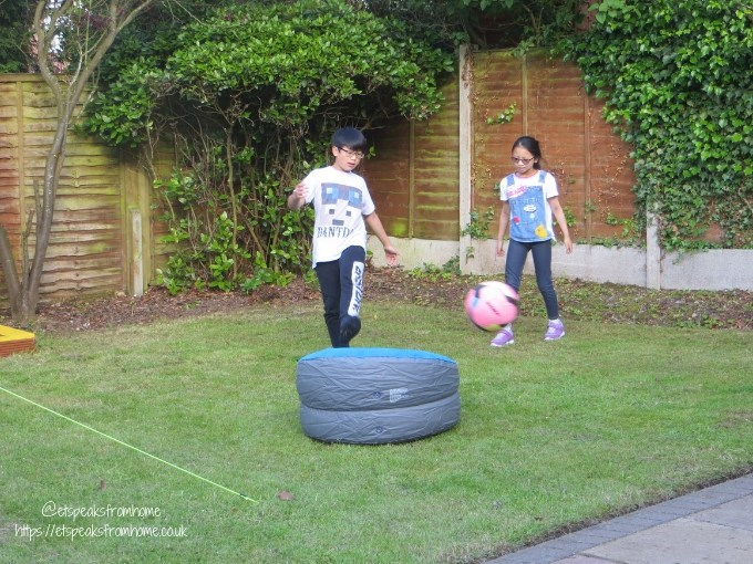Garden Family Sleepover - Wild Night Out football