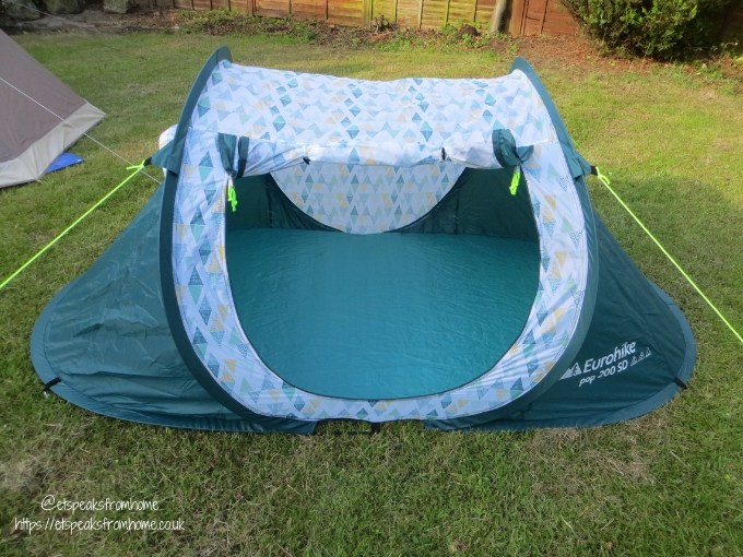 Garden Family Sleepover - Wild Night Out pop tent