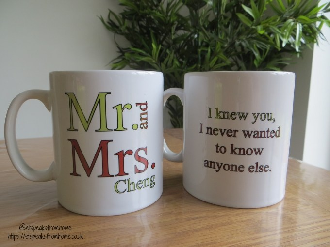 Housewarming Gifts from The Personalised Gift Shop personalised mugs