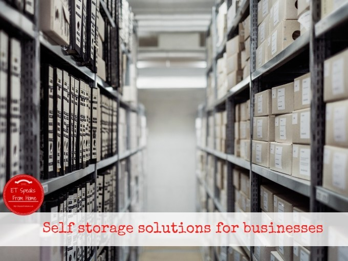 Self storage solutions for businesses