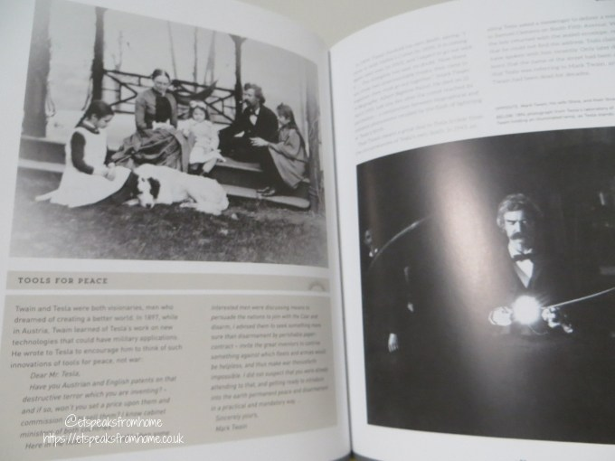 Tesla Biography Book