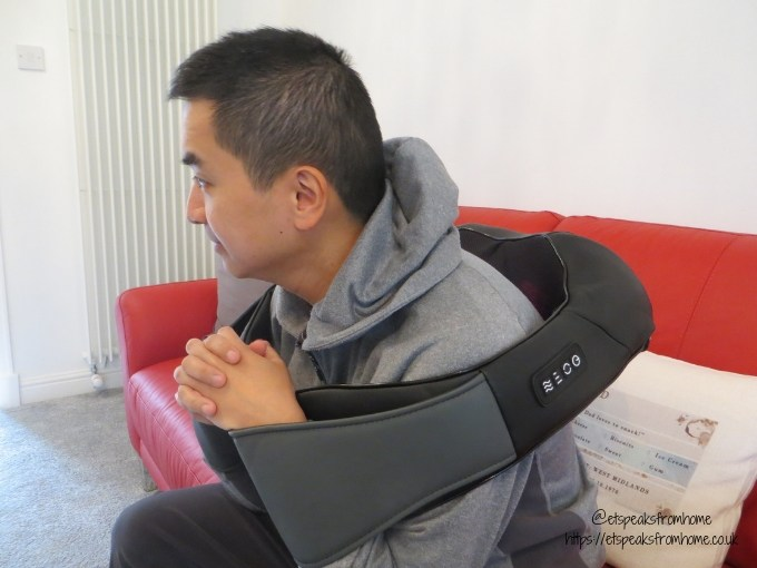 naipo shiatsu 3D Massager back