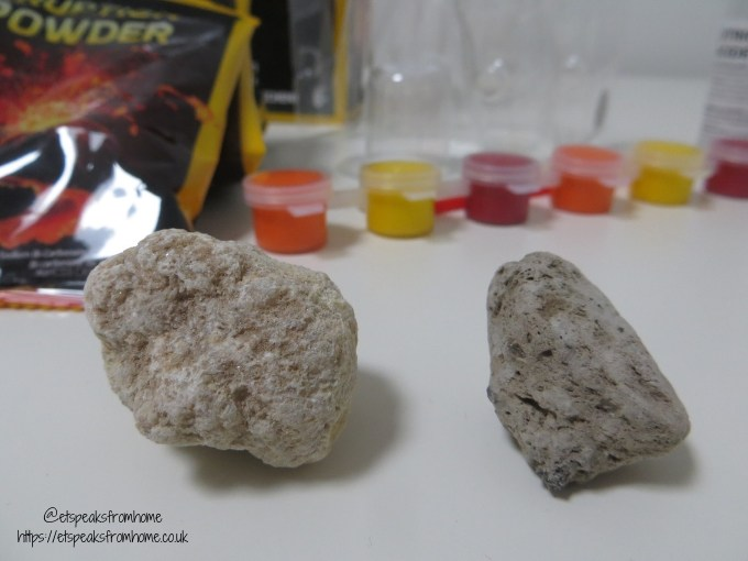 national geographic build your own volcano rocks