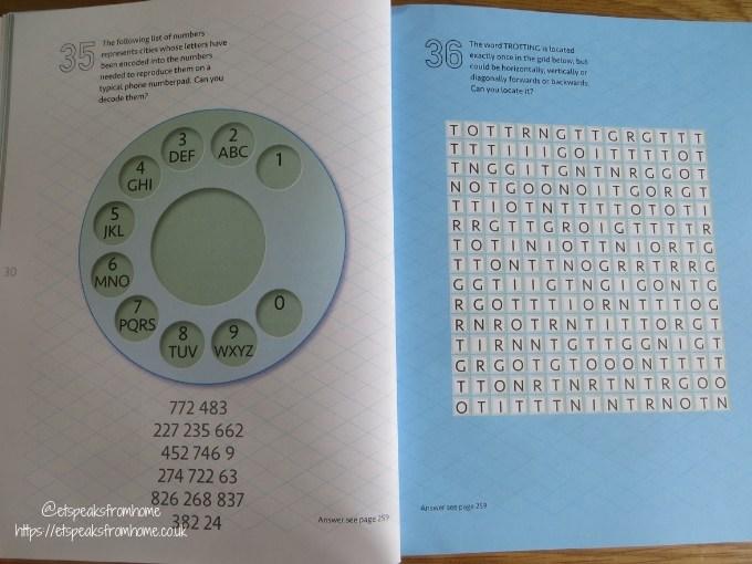 Carlton Books Puzzles & Quizzes Books Review mensa sample