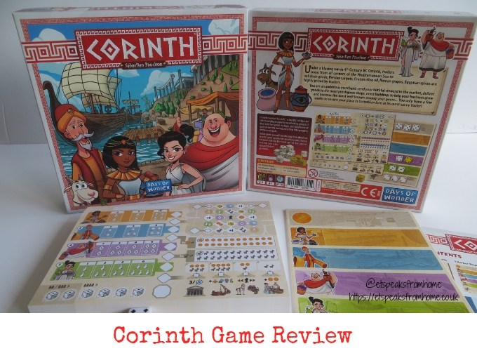 Corinth Game Review