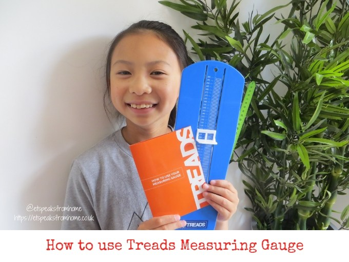 How to use Treads Measuring Gauge & win a pair of school shoes