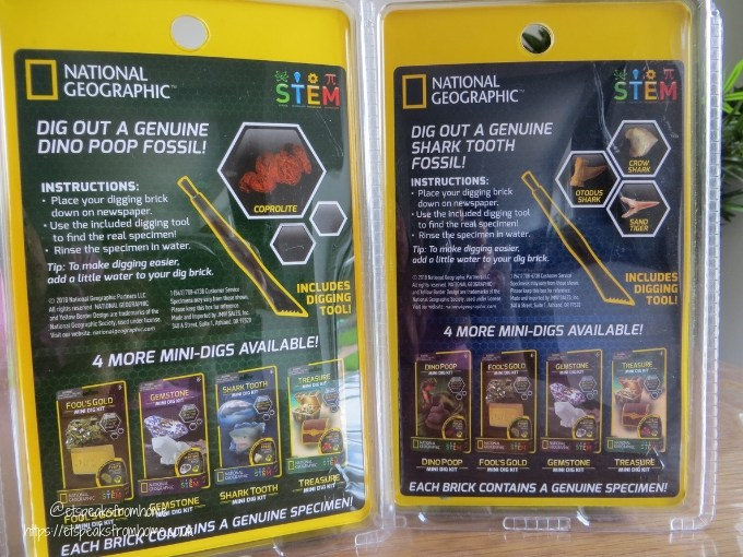 National Geographic Mini Dig Kits