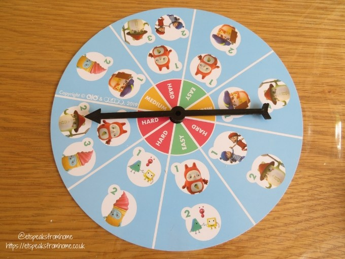 Okido Which Way Game spinner