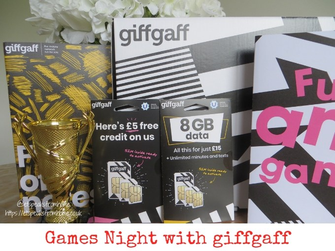 Games Night with giffgaff