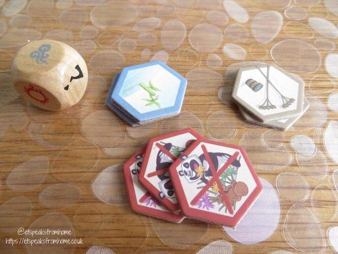 takenoko improvements cards
