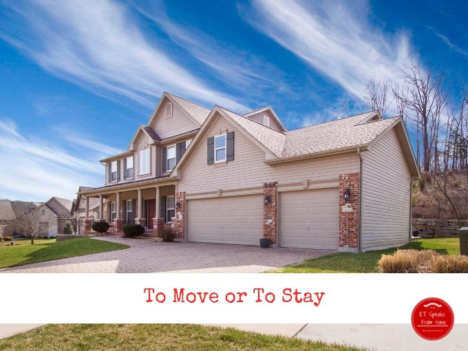 to move or to stay