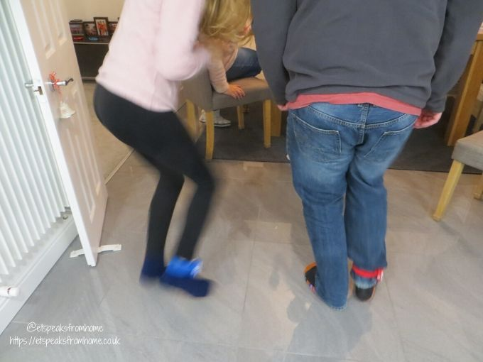 Shake Off meter on leg