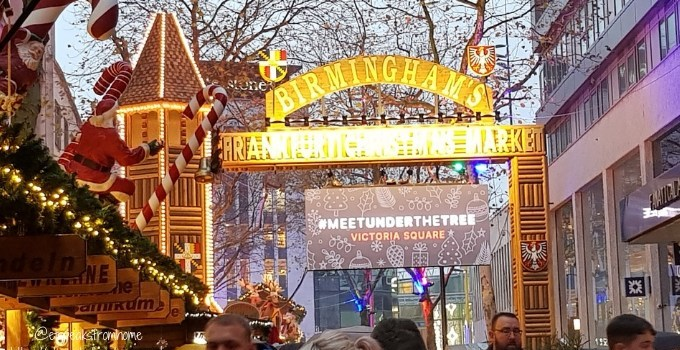 Celebrating Christmas in Birmingham