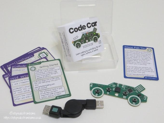lets start coding car