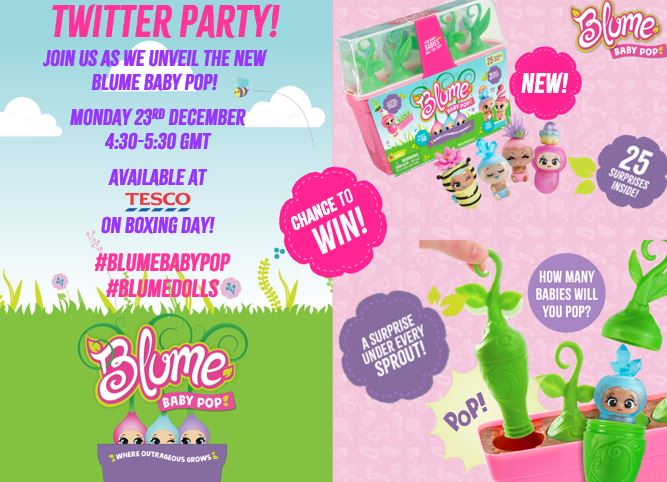 Blume Baby Pop Graphic
