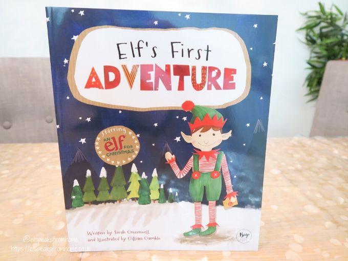 Elf's First Adventure Christmas book