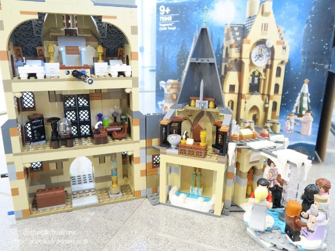 Harry potter top 10 christmas in the wizarding world hogwarts clock tower built back