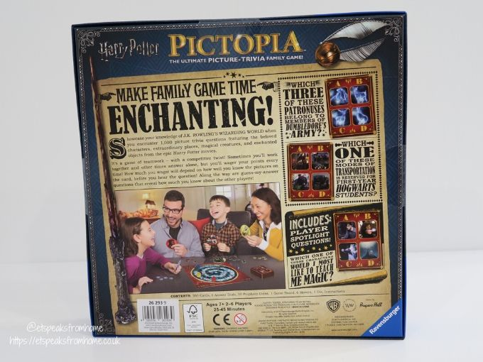 Harry potter top 10 christmas in the wizarding world pictoria box